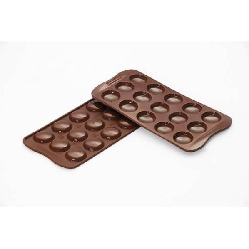 Silikomart Silikonová forma na čokoládu Choco Macarons