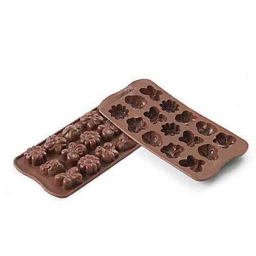 Silikomart Silikonová forma na čokoládu Choco Spring-life