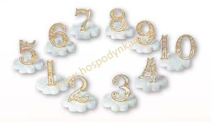 Nejedlá dekorace - číslice 9