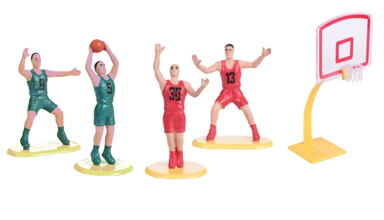 Figurka na dort - basketbal