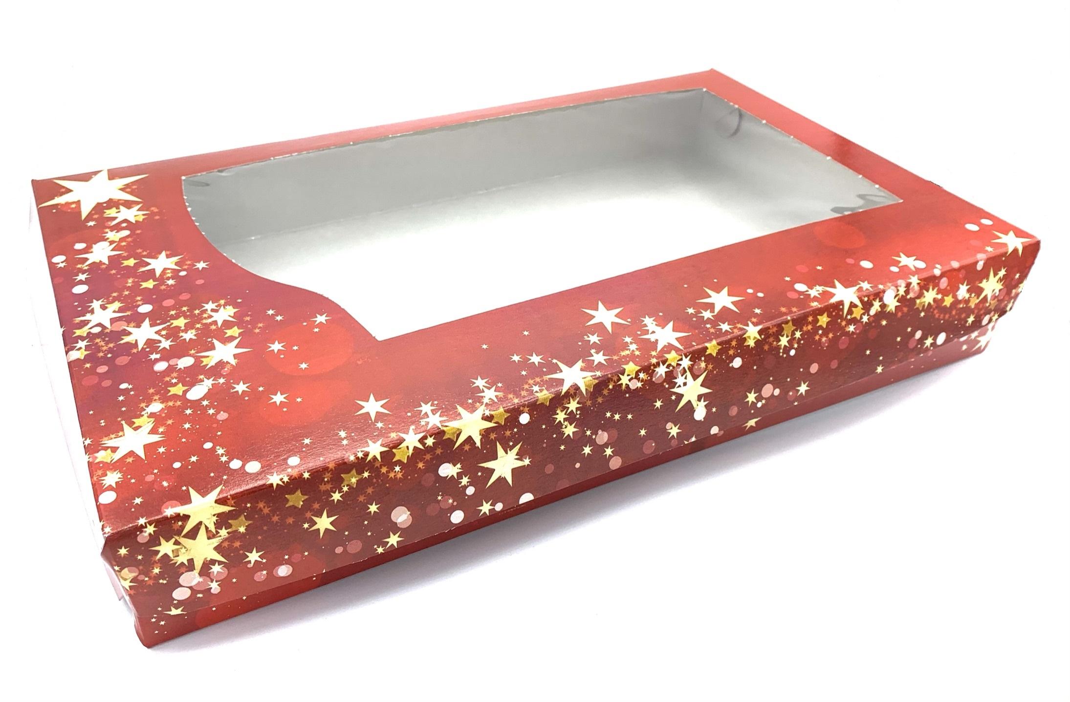 Krabice na vánoční cukroví