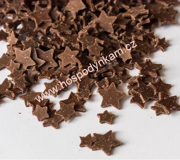 Čokoládové hvězdičky mléčné 25g