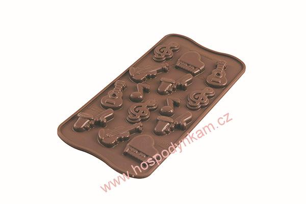 Silikomart Silikonová forma na čokoládu Melody