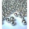 Cukrové zdobení - perličky stříbrné maxi 40g