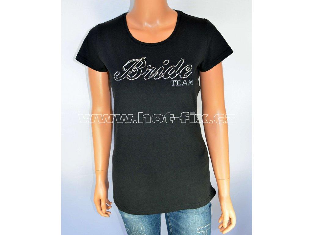 49953608813 3 B tričko Team Bride pro družičky a kamarádky nevěsty na předsvatební párty  a rozlučku se