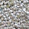 kovové hot-fix kameny barva 04 stříbrná mat velikost 4mm, balení 100 nebo 500ks