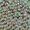 kovové hot-fix kameny barva 10 bronz mat tmavý velikost 3mm, balení 100 nebo 500ks