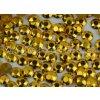hot-fix kovové kameny OCTAGONY barva 02 zlatá, velikost 3mm, balení 144, 720 nebo 1440ks