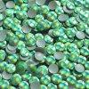 hot-fix kovové kamínky barva HG11 HOLOGRAM SVĚTLE ZELENÝ - sada 4x100ks (balení 2, 3, 4 a 5mm po 100ks)