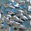 hot-fix kovová SLZA barva STŘÍBRNÁ, velikost 8x13mm, balení 100 nebo 500ks