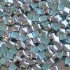 hot-fix kovový ČTVEREC barva STŘÍBRNÁ, velikost  5x5mm, balení 100 nebo 500ks