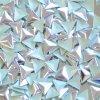 hot-fix kovový TROJÚHELNÍK barva STŘÍBRNÁ, velikost 6x6mm, balení 100 nebo 500ks