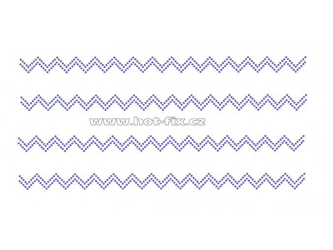 OP001-sada 4ks - nažehlovací hot-fix kamínková aplikace na textil za zvýhodněnou cenu