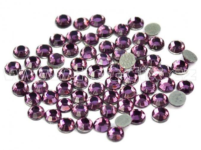 hot-fix kameny barva 122 Amethyst /fialová, velikost SS10, balení 144ks, 720ks, 1440ks