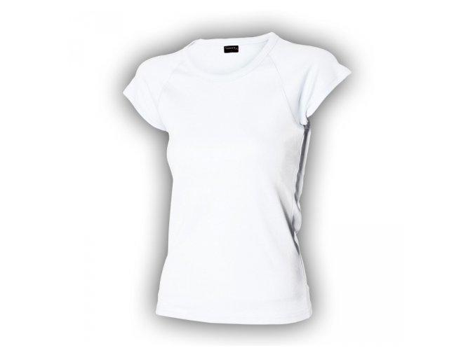 FT113 tričko dámské, 100% bavlna, gramáž 210g/m2, barva bílá