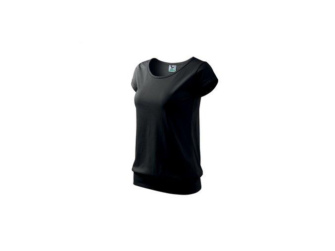 FTA120 dámské tričko tunika, 100% bavlna, gramáž 150g/m2, barva černá