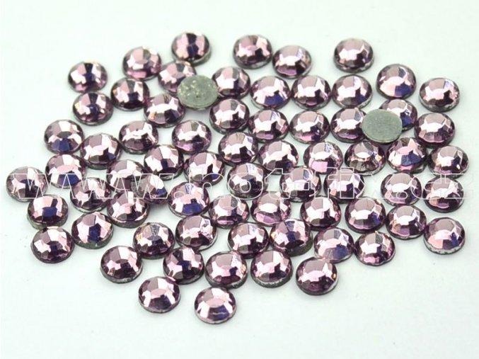 hot-fix kameny barva 123 Amethyst světlý, velikost SS 6, balení 144ks, 720ks, 1440ks