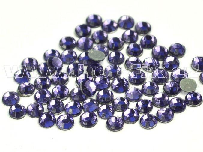 hot-fix kameny barva 139 Tanzanite /fialková, velikost SS 6, balení 144ks, 720ks, 1440ks