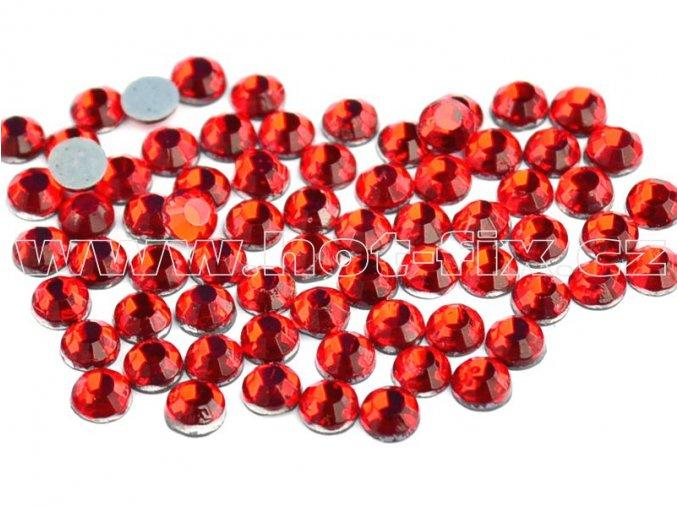 sada skleněných hot-fix kamenů 103 Siam /červená 4x144ks