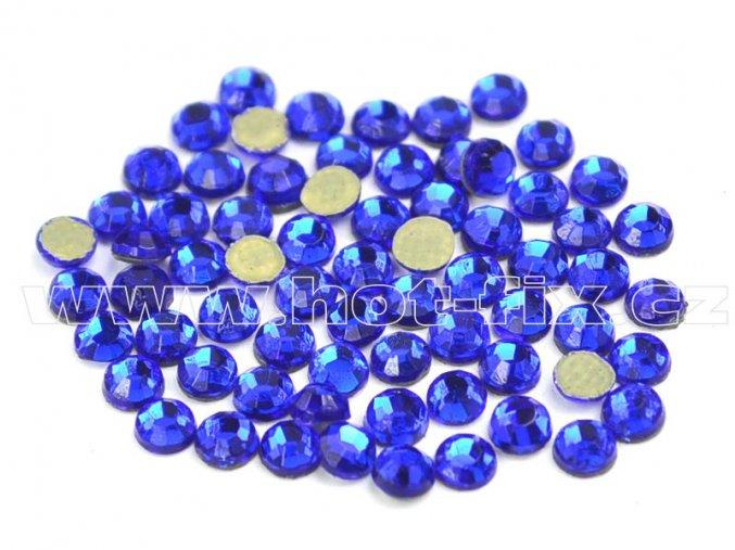 sada skleněných hot-fix kamenů 116 Cobalt /modrá 4x144ks