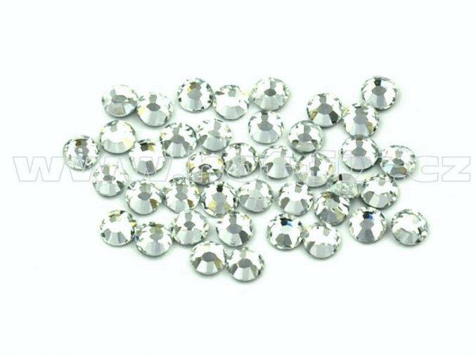 celobroušené hot-fix kameny Premium barva 101 Crystal, velikost SS 6, balení 144ks, 720ks nebo 1440ks