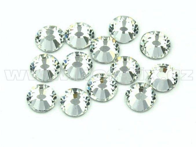 celobroušené hot-fix kameny Premium barva 101 Crystal, velikost SS16, balení 144ks, 720ks nebo 1440ks