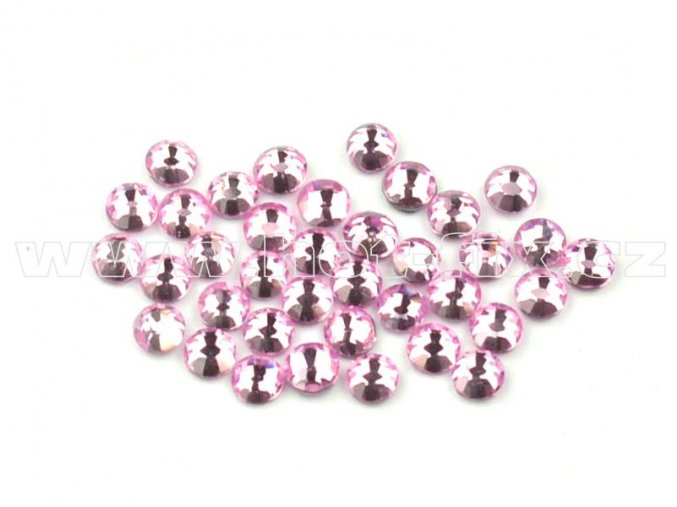 celobroušené hot-fix kameny Premium barva 105 Rose světlý, velikost SS 6, balení 144ks, 720ks nebo 1440ks