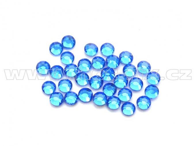 celobroušené hot-fix kameny Premium barva 117 Sapphire, velikost SS 6, balení 144ks, 720ks nebo 1440ks