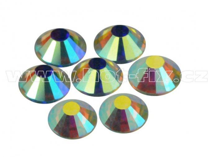 CBP 201 AB Crystal velikost SS30 hot fix kameny na textil celobroušené Premium 2