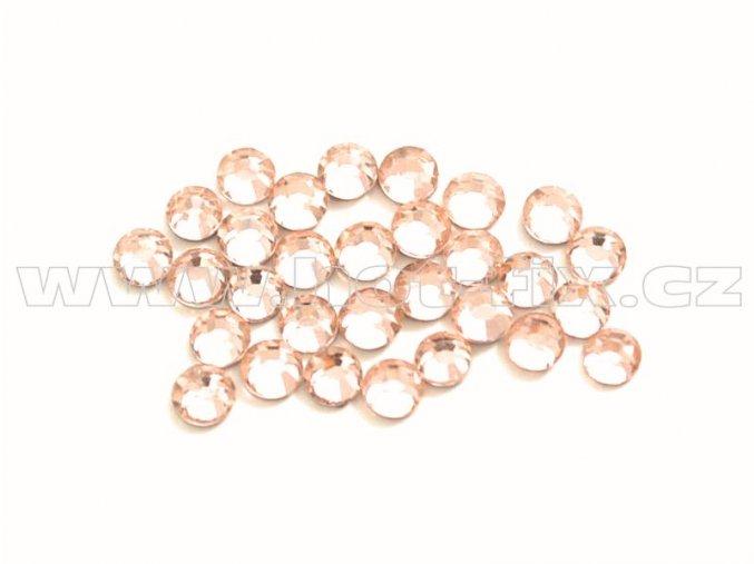 celobroušené hot-fix kameny Premium barva 190 Lt. Peach, velikost SS 6, balení 144ks, 720ks nebo 1440ks