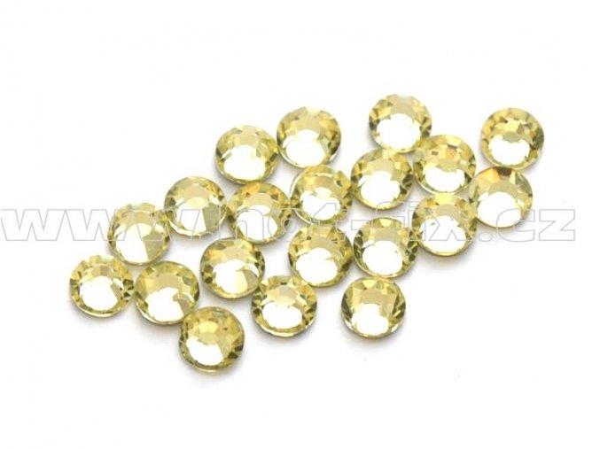 celobroušené hot-fix kameny Premium barva 111 Jonquil, velikost SS10, balení 144ks, 720ks nebo 1440ks