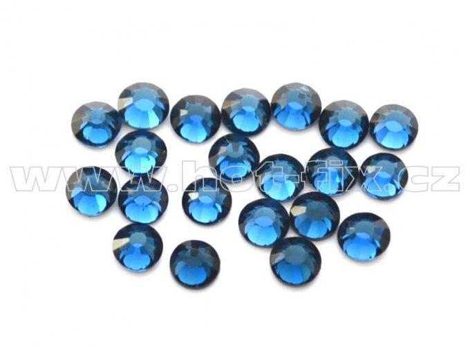 celobroušené hot-fix kameny Premium barva 133 Montana, velikost SS10, balení 144ks, 720ks nebo 1440ks