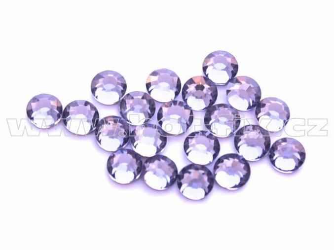 celobroušené hot-fix kameny Premium barva 139 Tanzanite, velikost SS10, balení 144ks, 720ks nebo 1440ks