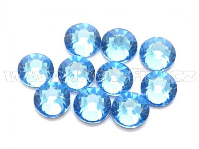 celobroušené hot-fix kameny Premium barva 118 Sapphire světlý, velikost SS20, balení 144ks, 720ks nebo 1440ks