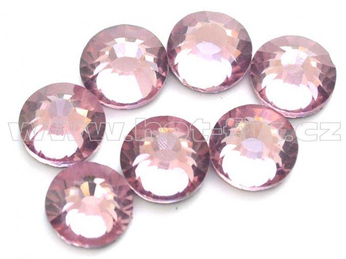 celobroušené hot-fix kameny Premium barva 121 Amethyst světlý, velikost SS30, balení 144ks, 720ks nebo 1440ks