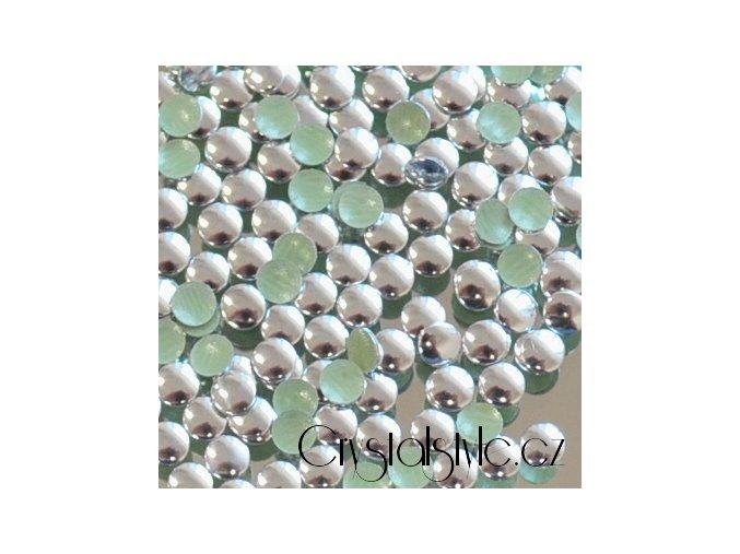 kovové hot-fix kameny barva 03 stříbrná lesk velikost  3mm, balení 100 nebo 500ks