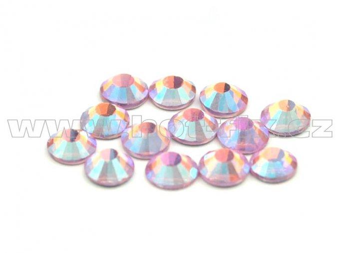 CBP 506 AB rose světlý velikost SS16 hot fix kameny na textil celobroušené Premium