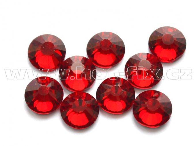 hot-fix celobroušené kameny Premium barva CBP/102 Siam tmavý, sada 4x144ks
