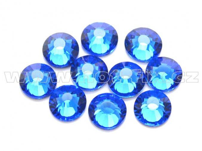 hot-fix celobroušené kameny Premium barva CBP/117 Sapphire, sada 4x144ks