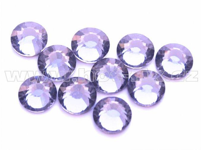 hot-fix celobroušené kameny Premium barva CBP/139 Tanzanite, sada 4x144ks
