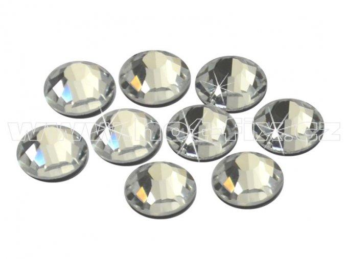 CBEP 1101 Crystal velikost SS20 hot fix kameny na textil celobroušené Extra Premium