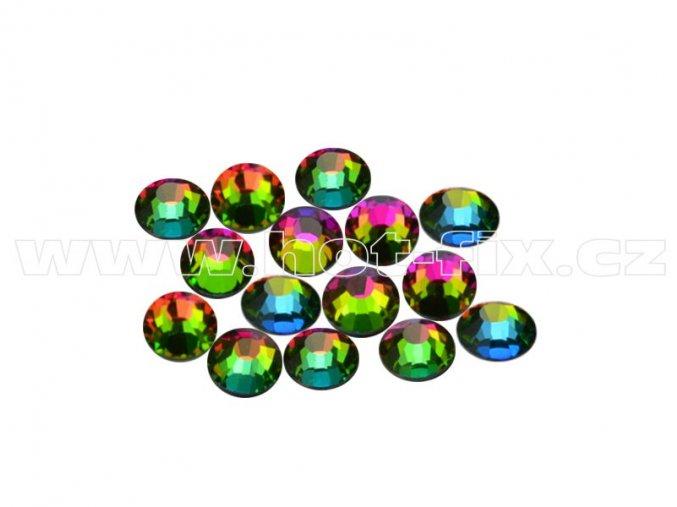 CBEP 1303 Vitrail medium velikost SS16 hot fix kameny na textil celobroušené Premium Extra