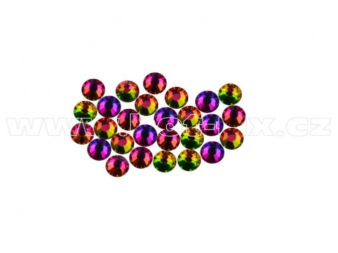 CBEP 1303 Vitrail medium velikost SS6 hot fix kameny na textil celobroušené Premium Extra