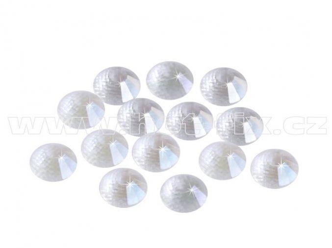 CBEP 1134 Nude Crystal velikost SS16 hot fix kameny na textil celobroušené Extra Premium