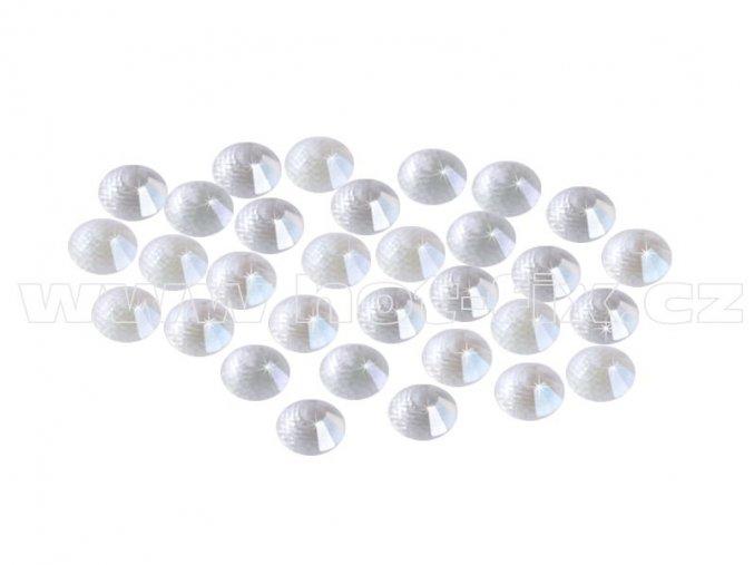 CBEP 1134 Nude Crystal velikost SS6 hot fix kameny na textil celobroušené Extra Premium