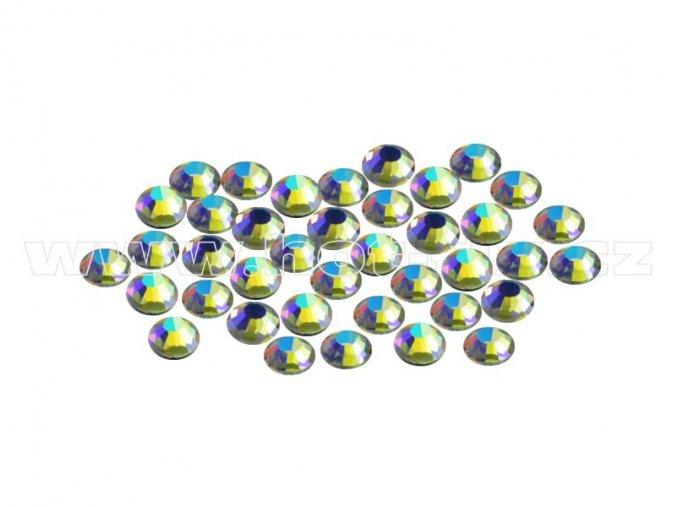 CBPEP 1317 Blue crystal velikost SS6 hot fix kameny na textil celobroušené Premium Extra