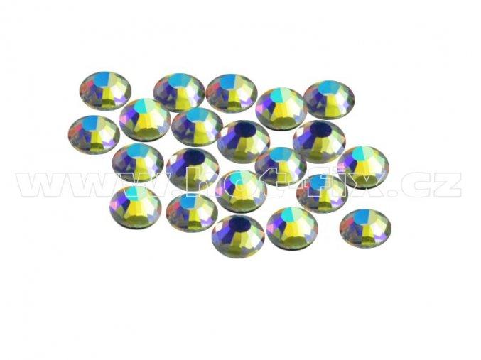 CBPEP 1317 Blue crystal velikost SS10 hot fix kameny na textil celobroušené Premium Extra