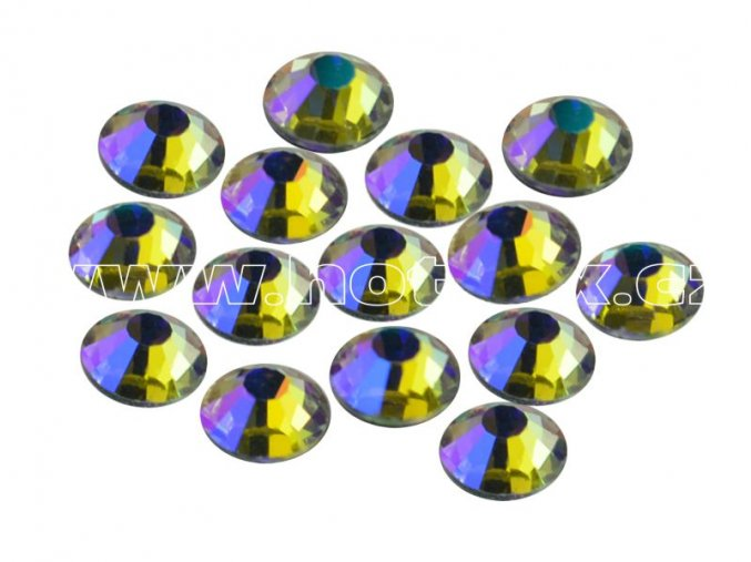 CBPEP 1317 Blue crystal velikost SS16 hot fix kameny na textil celobroušené Premium Extra