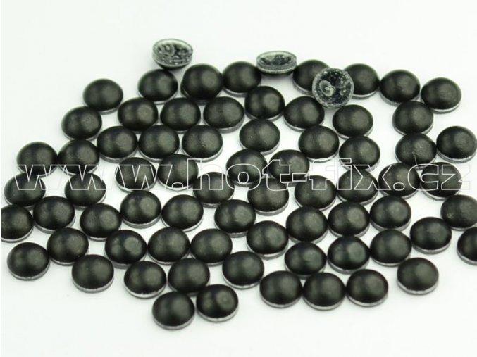 hot-fix perla barva SA344 černá mat, velikost 5mm, balení 100 nebo 500ks