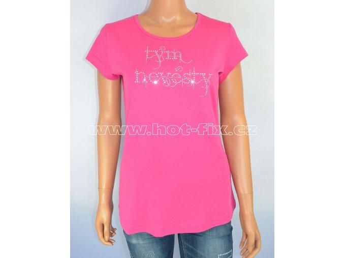 12 B Tým nevěsty tričko pro kamarádky nevěsty na předsvatební párty a rozlučku se svobodou hot fix kameny